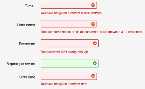 Contact Form 7 Validation
